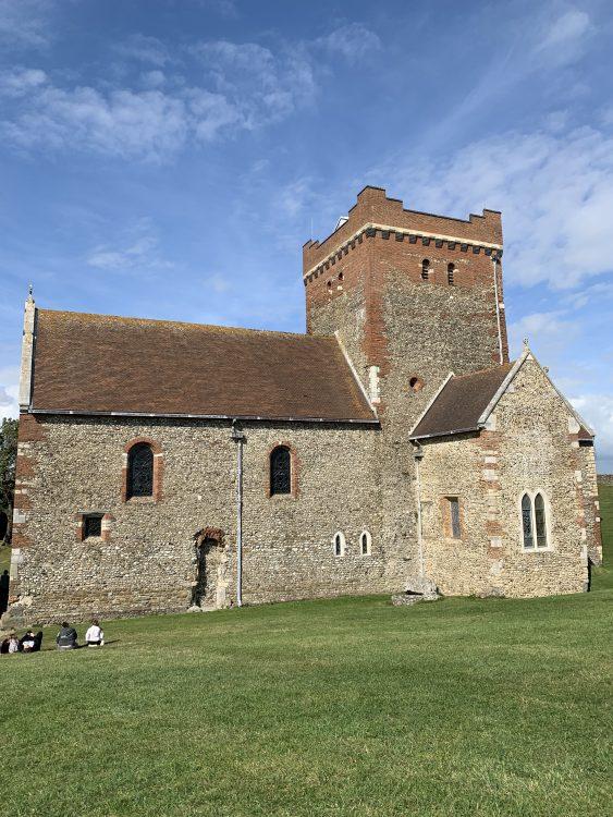 Church where British Legion Centenary Service took Place: Dover Castle