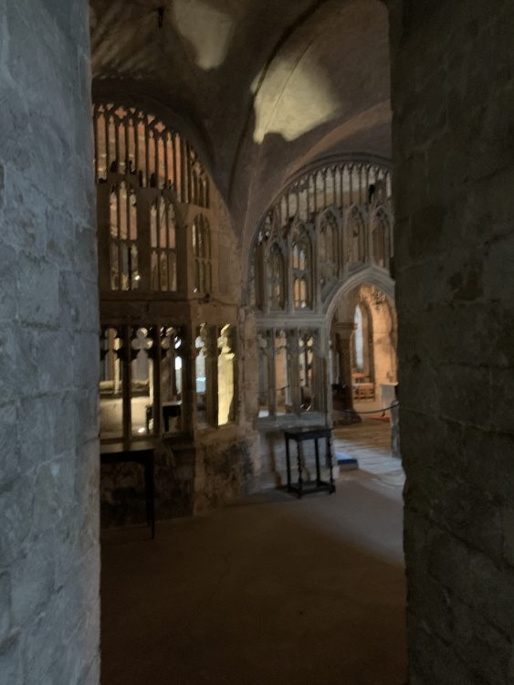 Canterbury Cathedral: Byzantine Feel