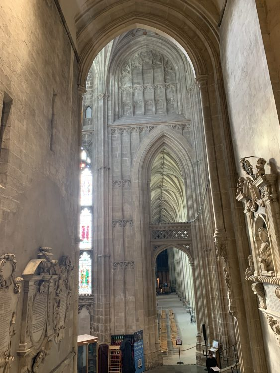 Canterbury Cathedral: Mysterious Maze of Masonry